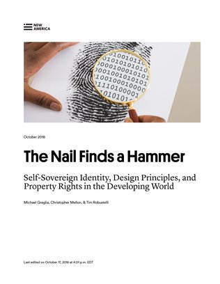The Nail Finds a Hammer - cover page